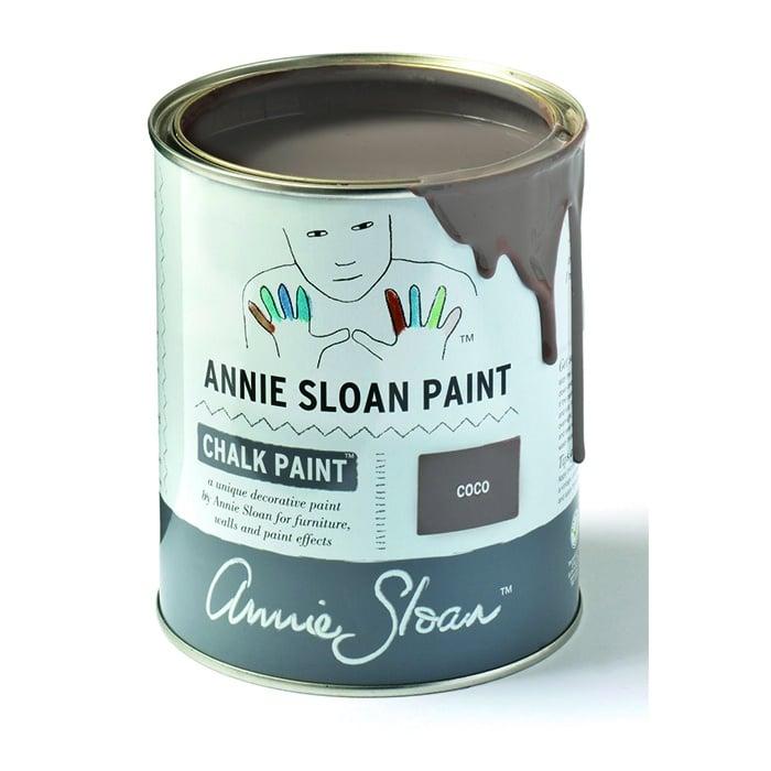 Annie Sloan Kreidefarbe mittelbraun – Coco