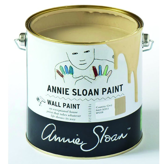 Annie Sloan Wandfarbe helles beige – Country Grey