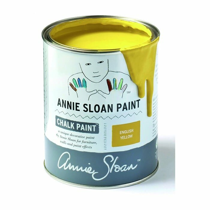 Annie Sloan Kreidefarbe zitronengelb – English Yellow