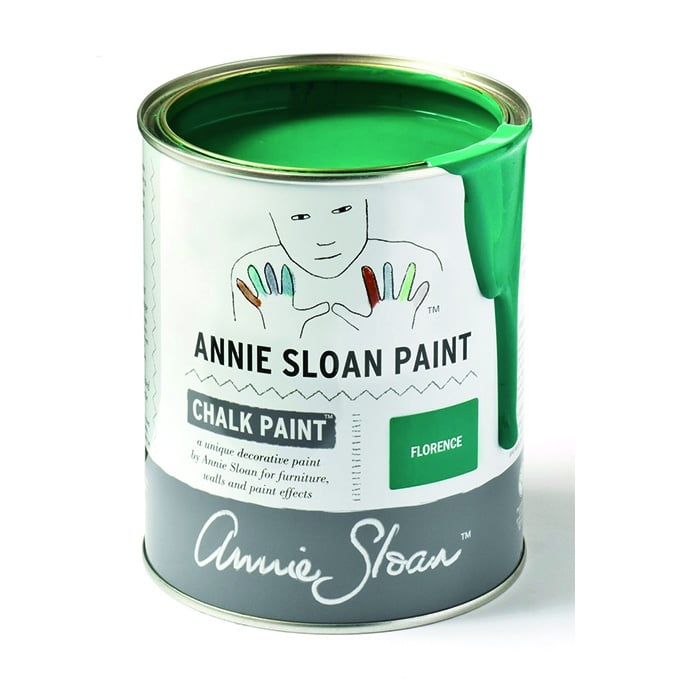 Annie Sloan Kreidefarbe kupfergrün – Florence