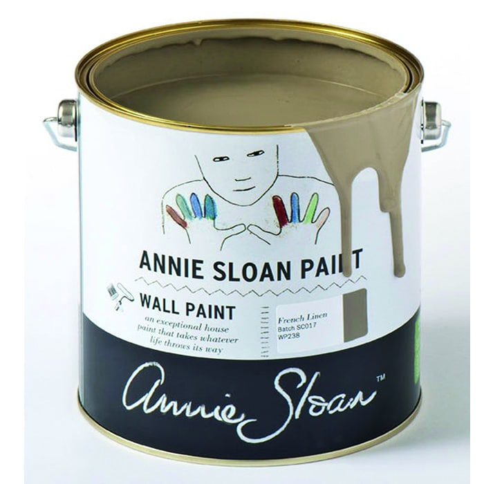 Annie Sloan Wandfarbe taupe – French Linen