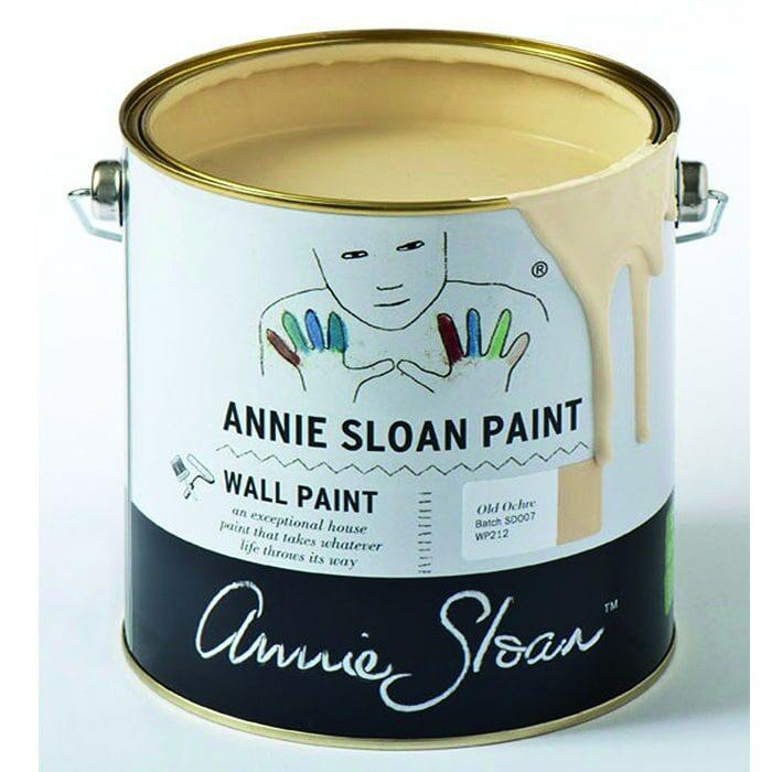 Annie Sloan Wandfarbe helles beige – Old Ochre