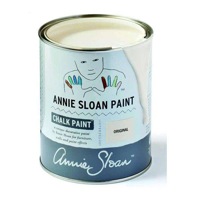 Annie Sloan Kreidefarbe cremeweiß – Original