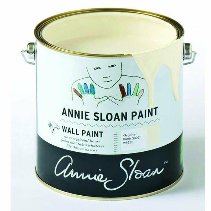 Annie Sloan Wandfarbe cremeweiß – Original