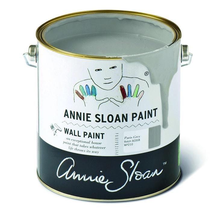 Annie Sloan Wandfarbe grau – Paris Grey