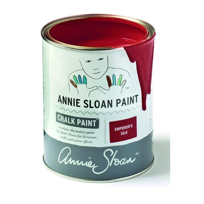 Annie Sloan Kreidefarbe rot – Emperor´s Silk