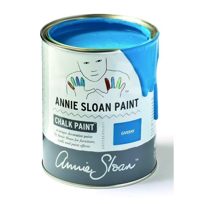 Annie Sloan Kreidefarbe türkisblau – Giverny