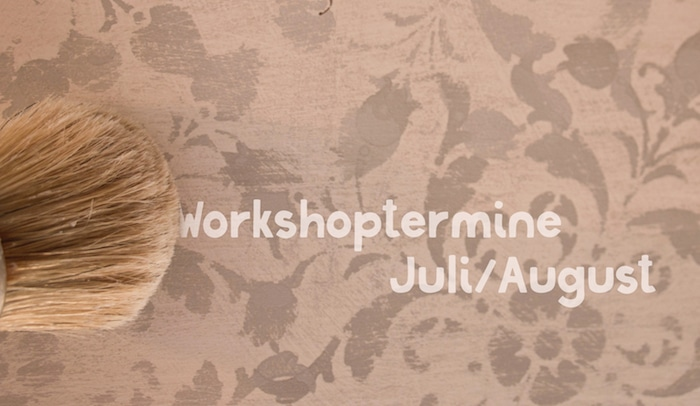 Juli-August: Chalk Paint Basis- & Fortgeschrittenen-Workshops