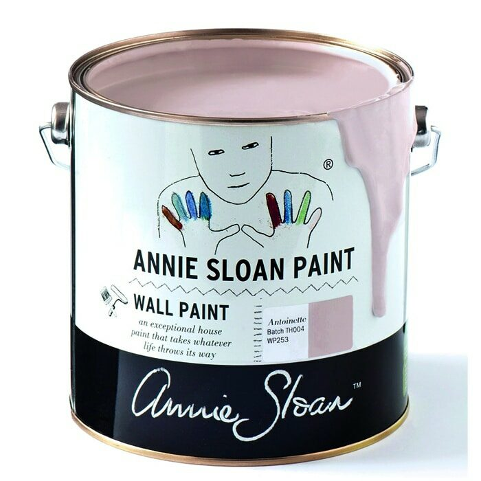 Annie Sloan Wandfarbe hellrosa – Antoinette