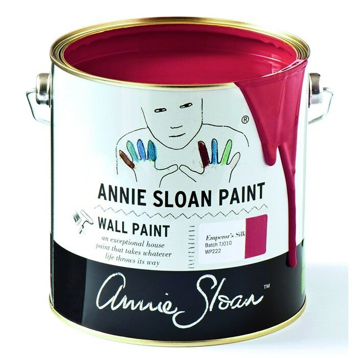 Annie Sloan Wandfarbe rot – Emperor´s Silk