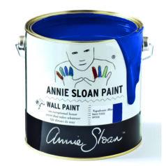 Annie Sloan Wandfarbe tiefblau – Napoleonic Blue