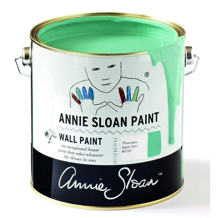Annie Sloan Wandfarbe mintgrün – Provence