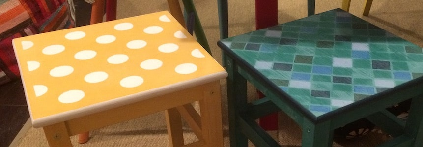 Ferienworkshop: Mein bunter Hocker