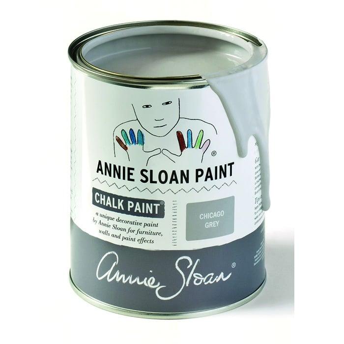Annie Sloan Kreidefarbe hellgrau – Chigago Grey