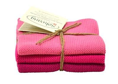 Solwang Wischtücher – Pink Kombi BIO