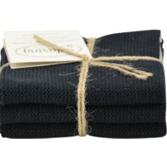 Solwang Wischtücher – Schwarz BIO